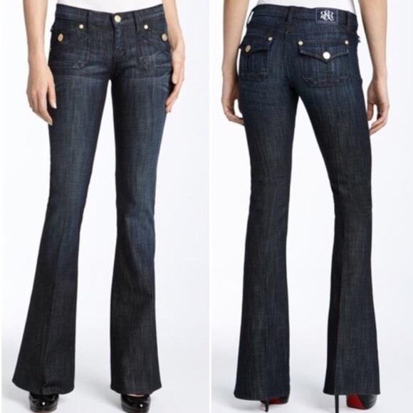 Rock & Republic Denim - Rock & Republic Scorpion Flare Jeans